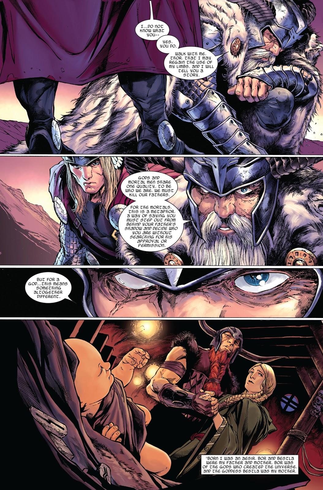 Odin's Origin Story