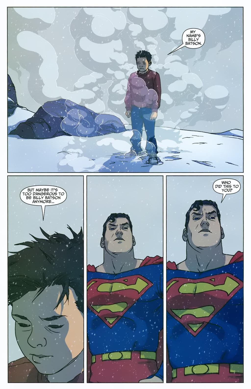 Superman Learns Captain Marvel's Secret Identity (First Thunder)