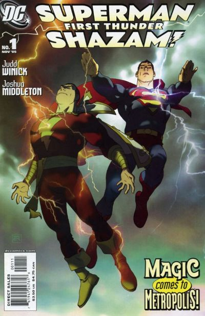 Superman Shazam first thunder