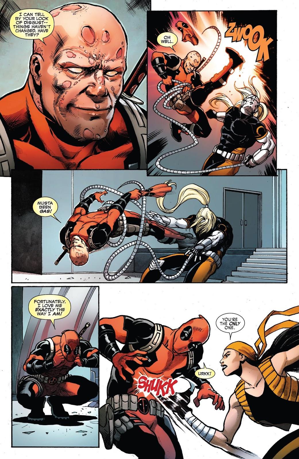 Deadpool VS Weapon X