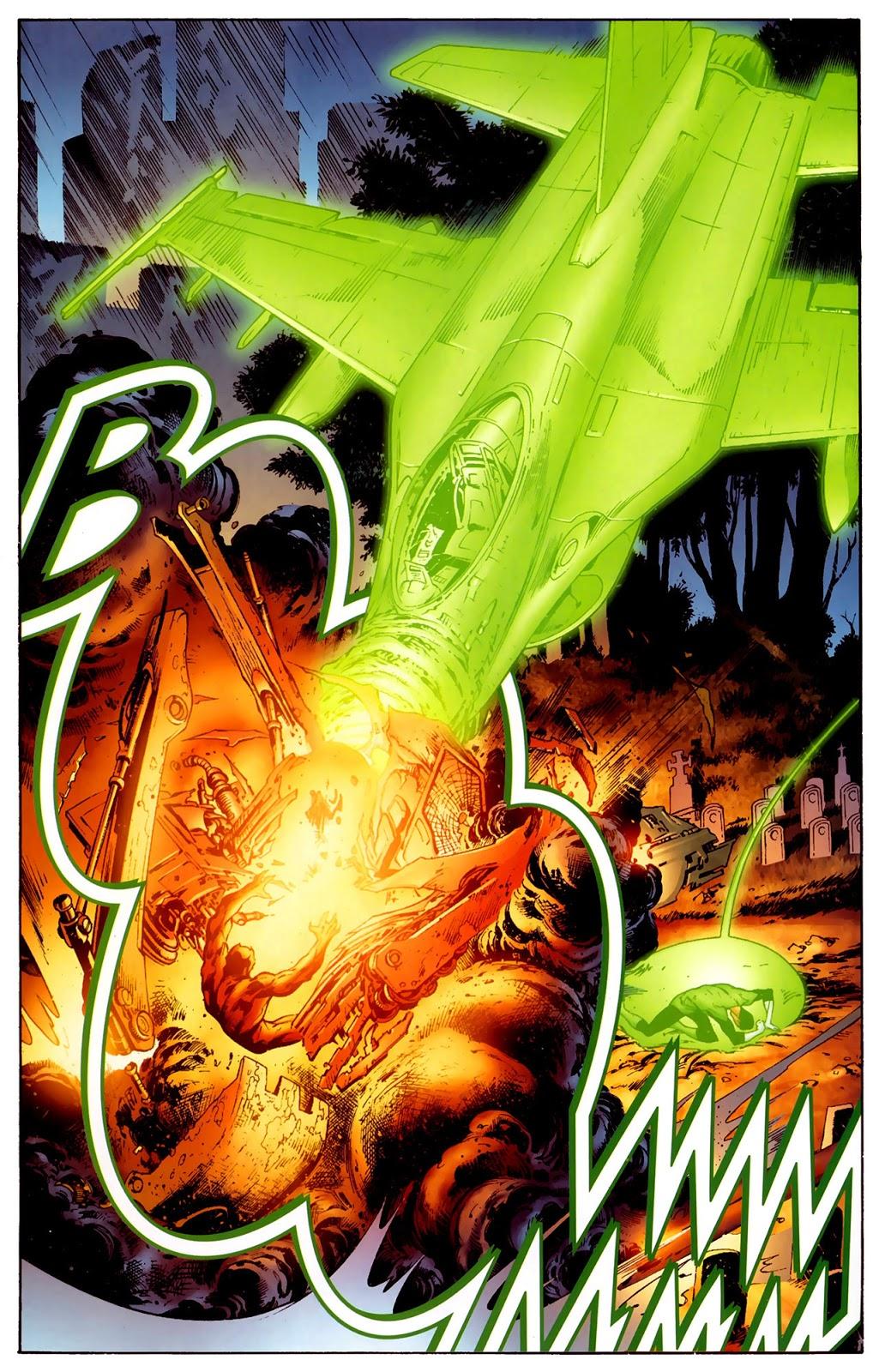 Hal Jordan And Sinestro VS Atrocitus (Secret Origin)