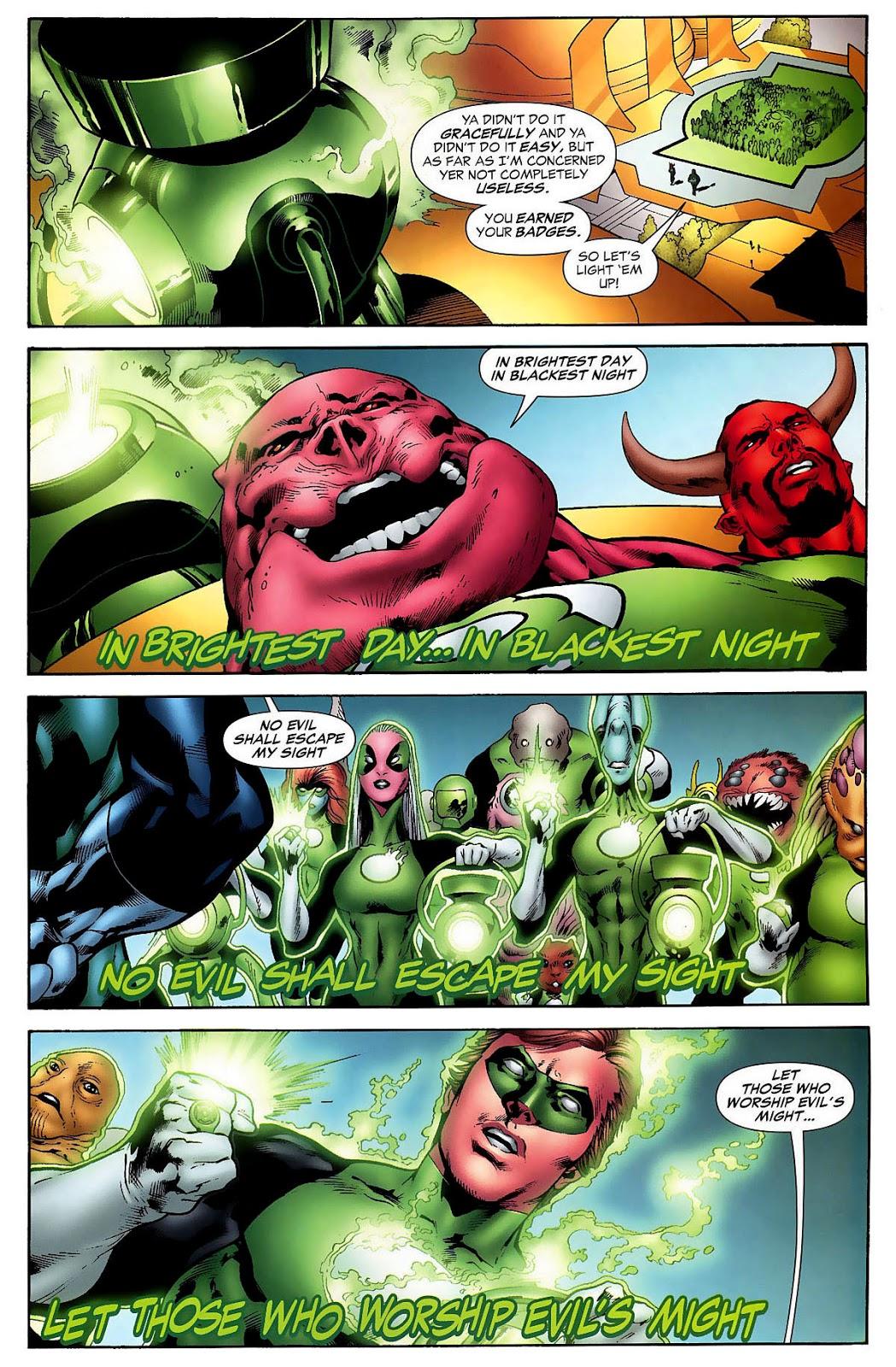 Hal Jordan Goes Through Kilowog's Bootcamp