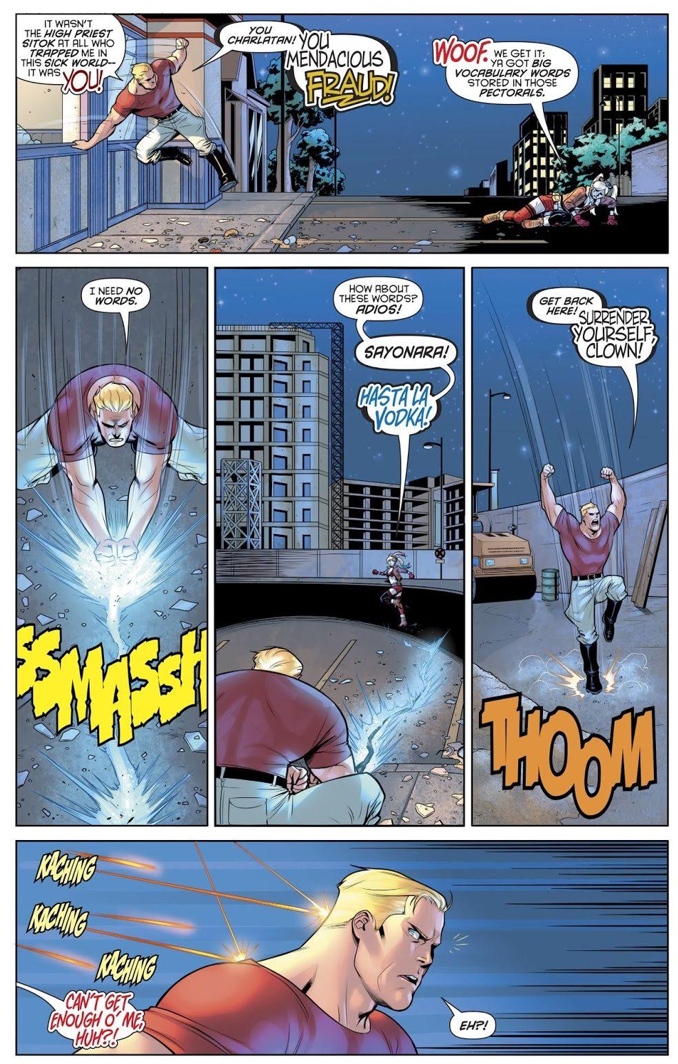 Harley Quinn VS Captain Triumph