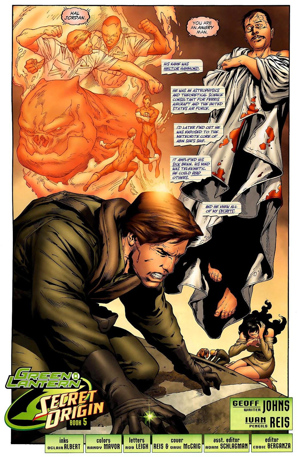 Hector Hammond (Green Lantern Vol. 4 #33)