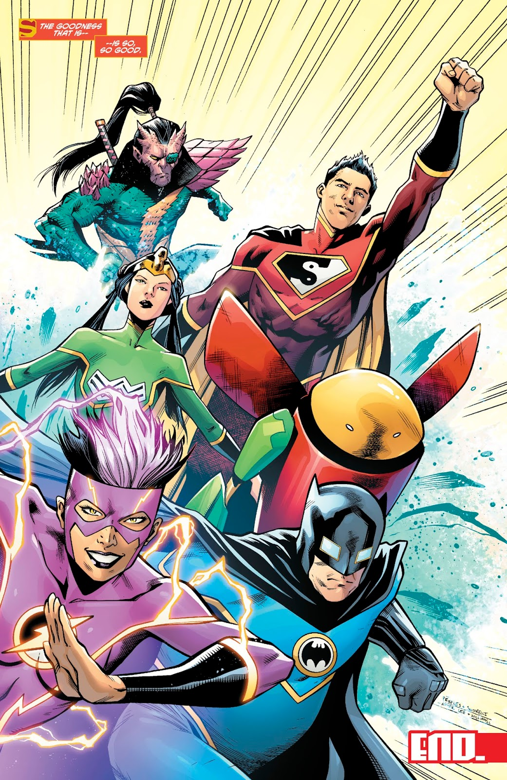 Justice League Of China (New Super-Man #24) 1