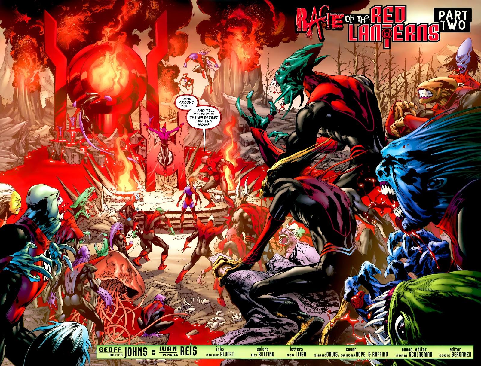 Red Lantern Corps (Green Lantern Vol. 4 #36)