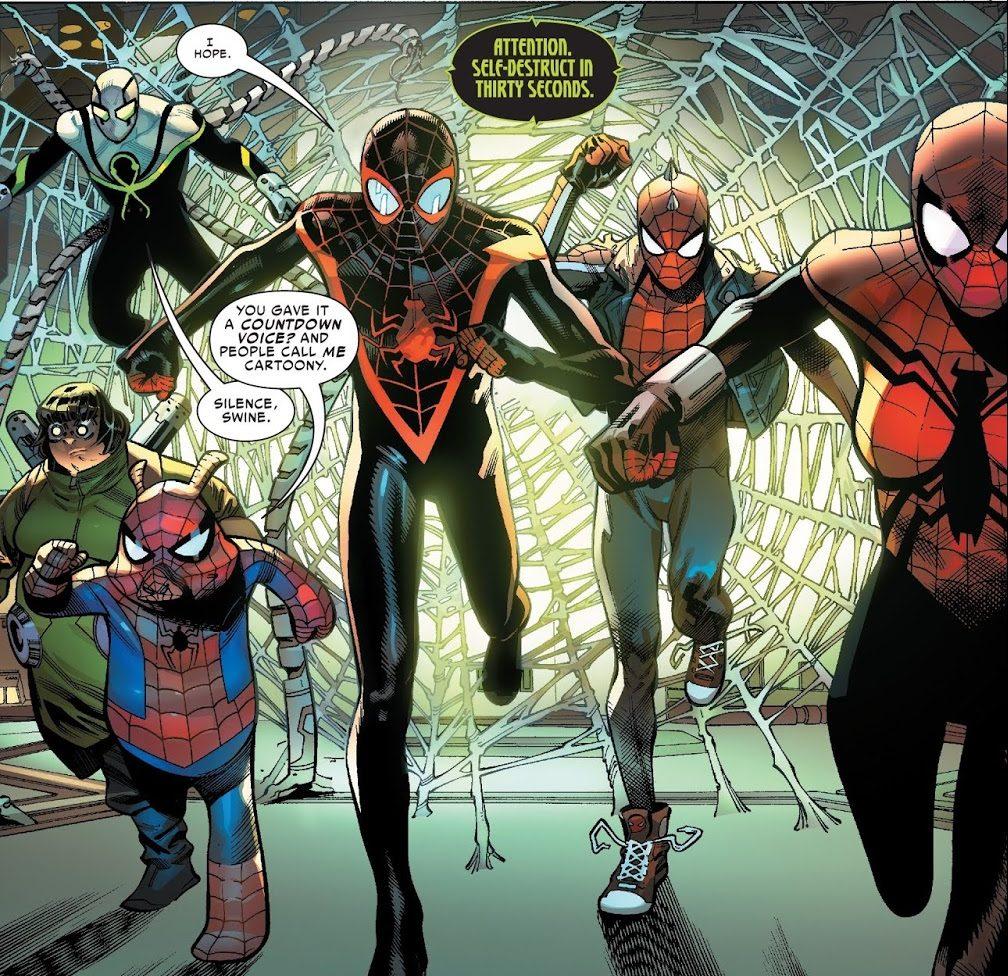 Spider-Army (Spider-Geddon #2)