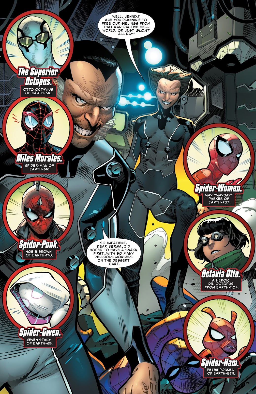 The Inheritors (Spider-Geddon #2)