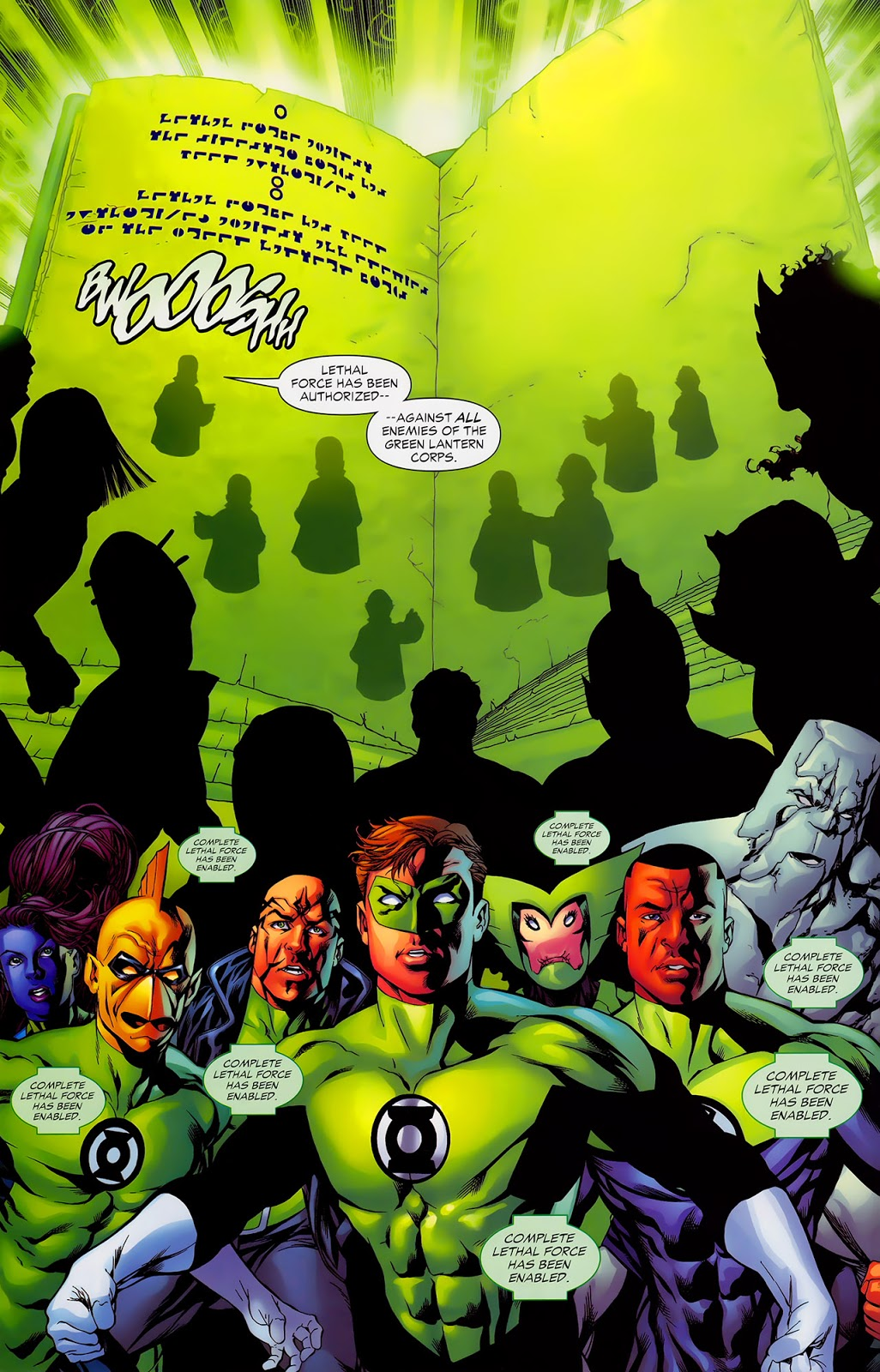 The Second Law Of The Green Lantern Corps