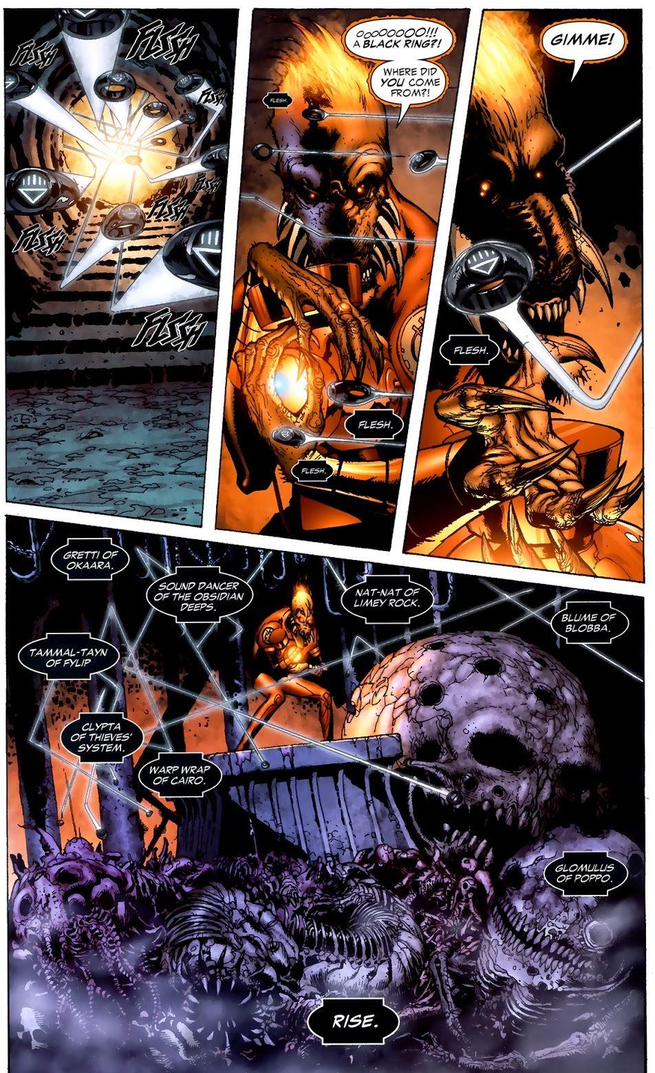 Agent Orange Larfleeze (Green Lantern Vol. 4 #45)