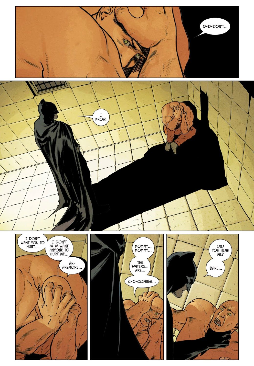 Batman Beats Up Bane (Rebirth)
