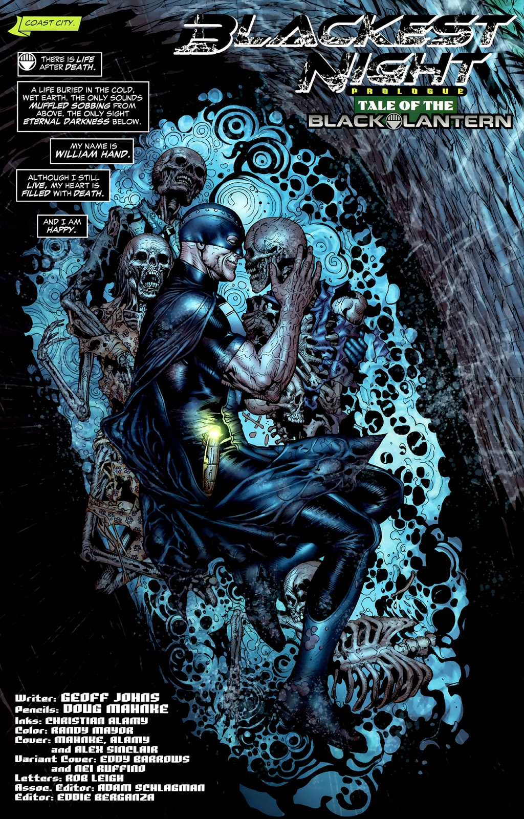 Black Hand (Green Lantern Vol. 4 #43)