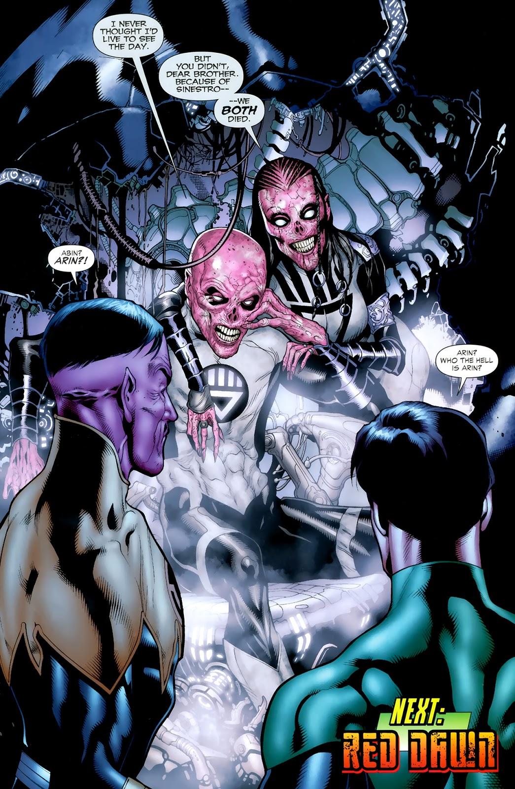 Black Lantern Abin Sur (Green Lantern Vol. 4 #46)