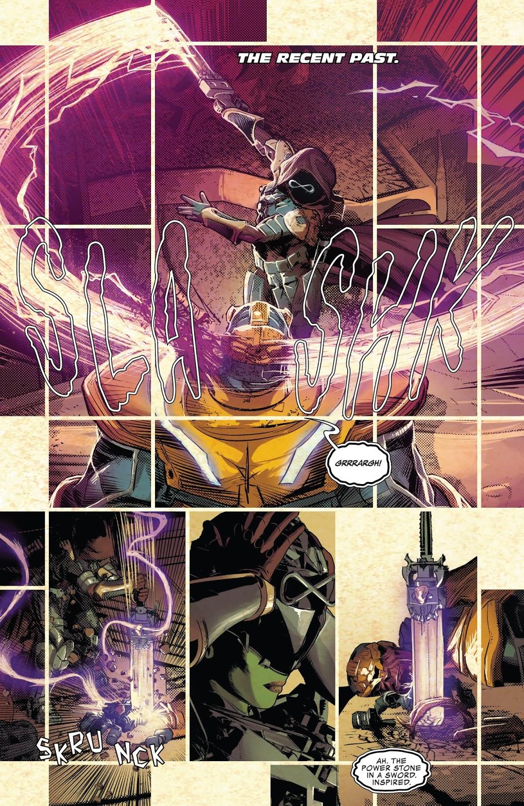 Gamora Kills Thanos (Infinity Wars)