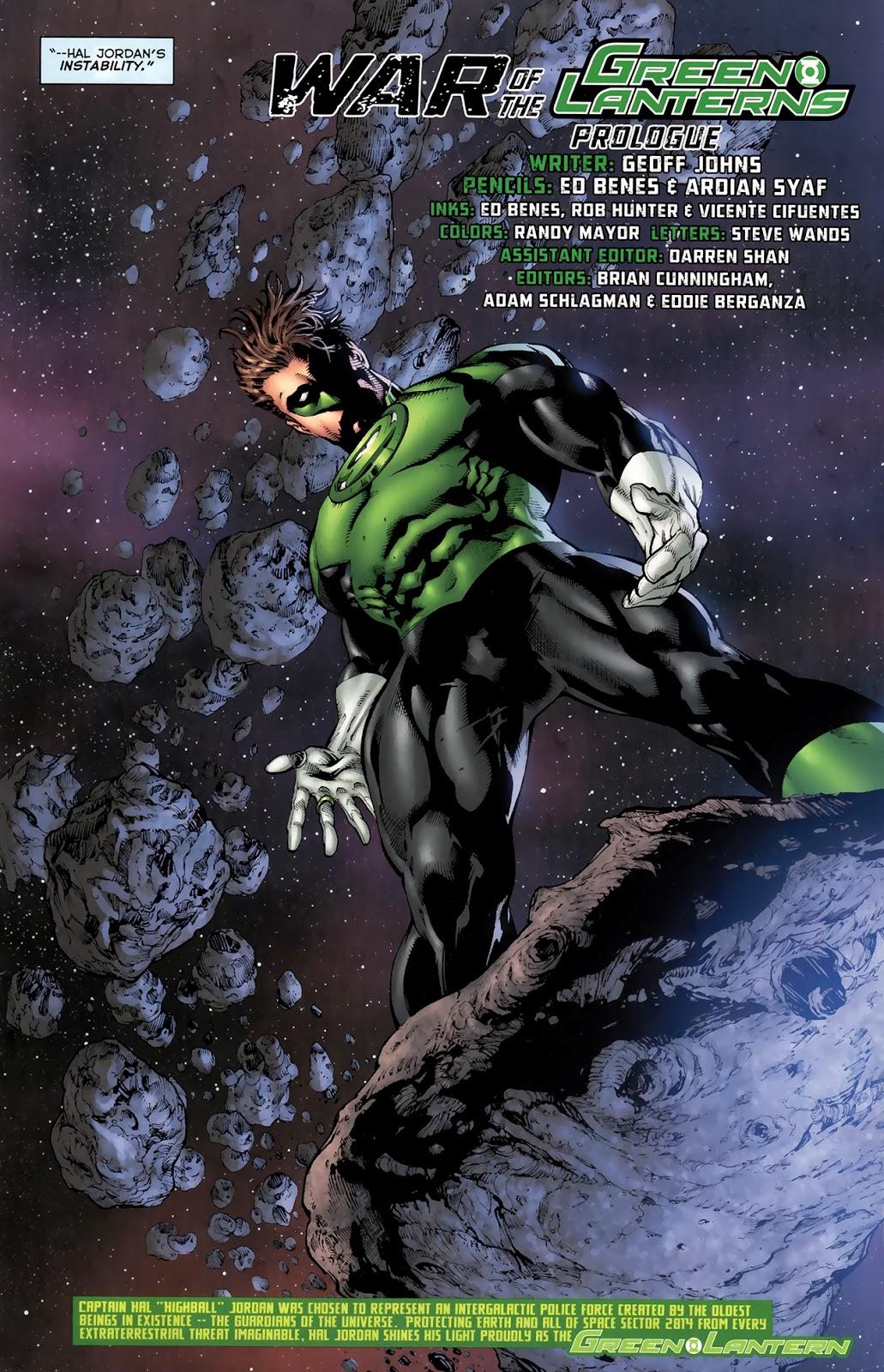 Green Lantern Hal Jordan (Green Lantern Vol. 4 #63)