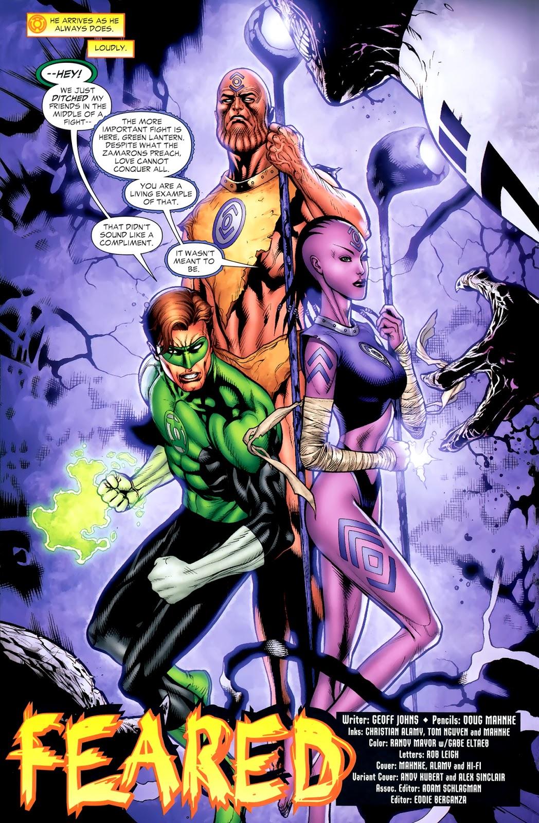Hal Jordan And The Indigo Tribe (Green Lantern Vol. 4 #46)