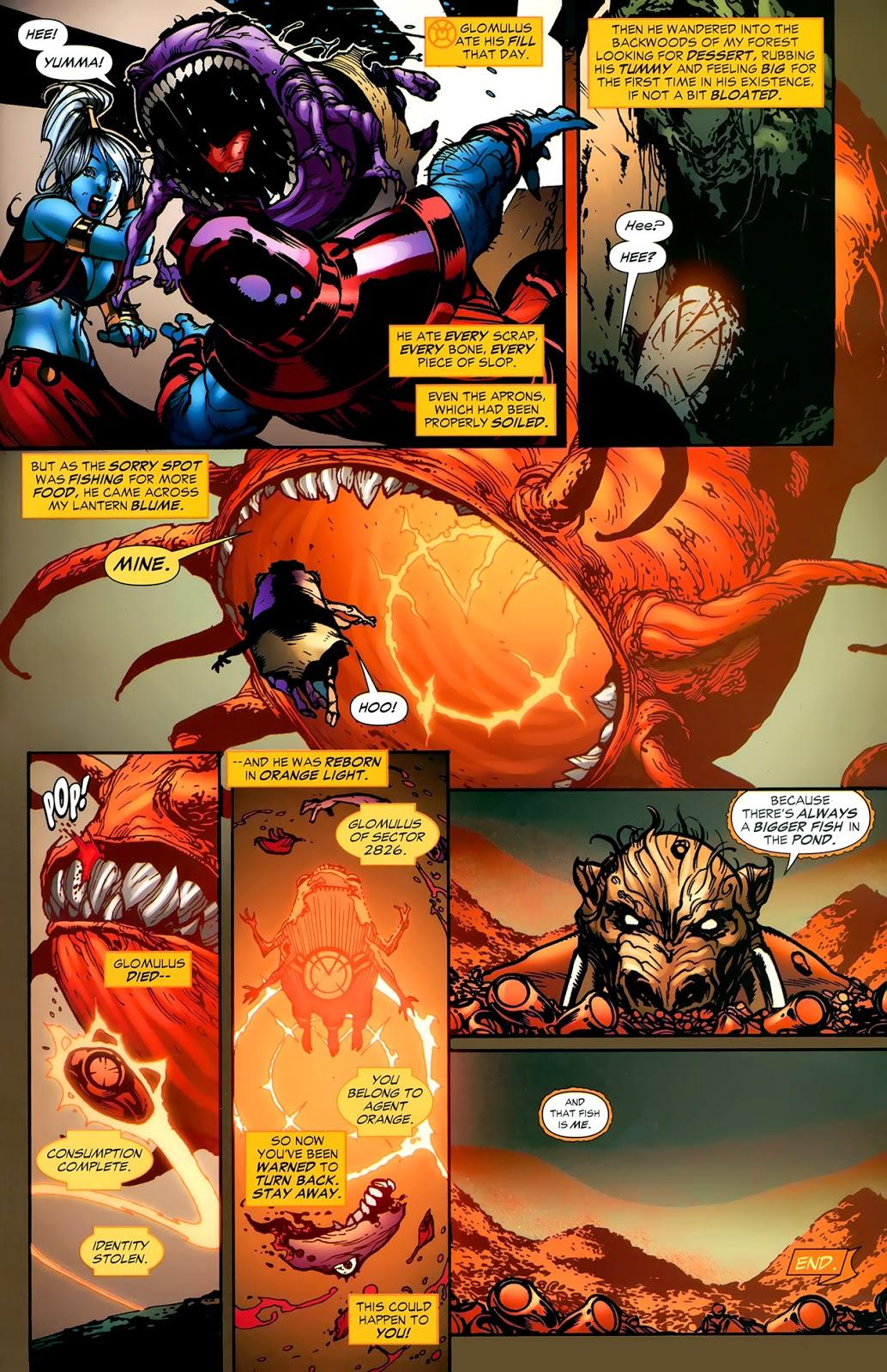 How Glomulus Became An Orange Lantern