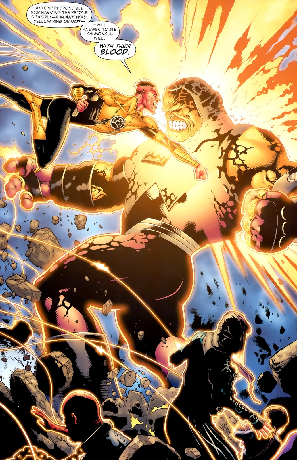 Sinestro VS Mongul (Blackest Night)