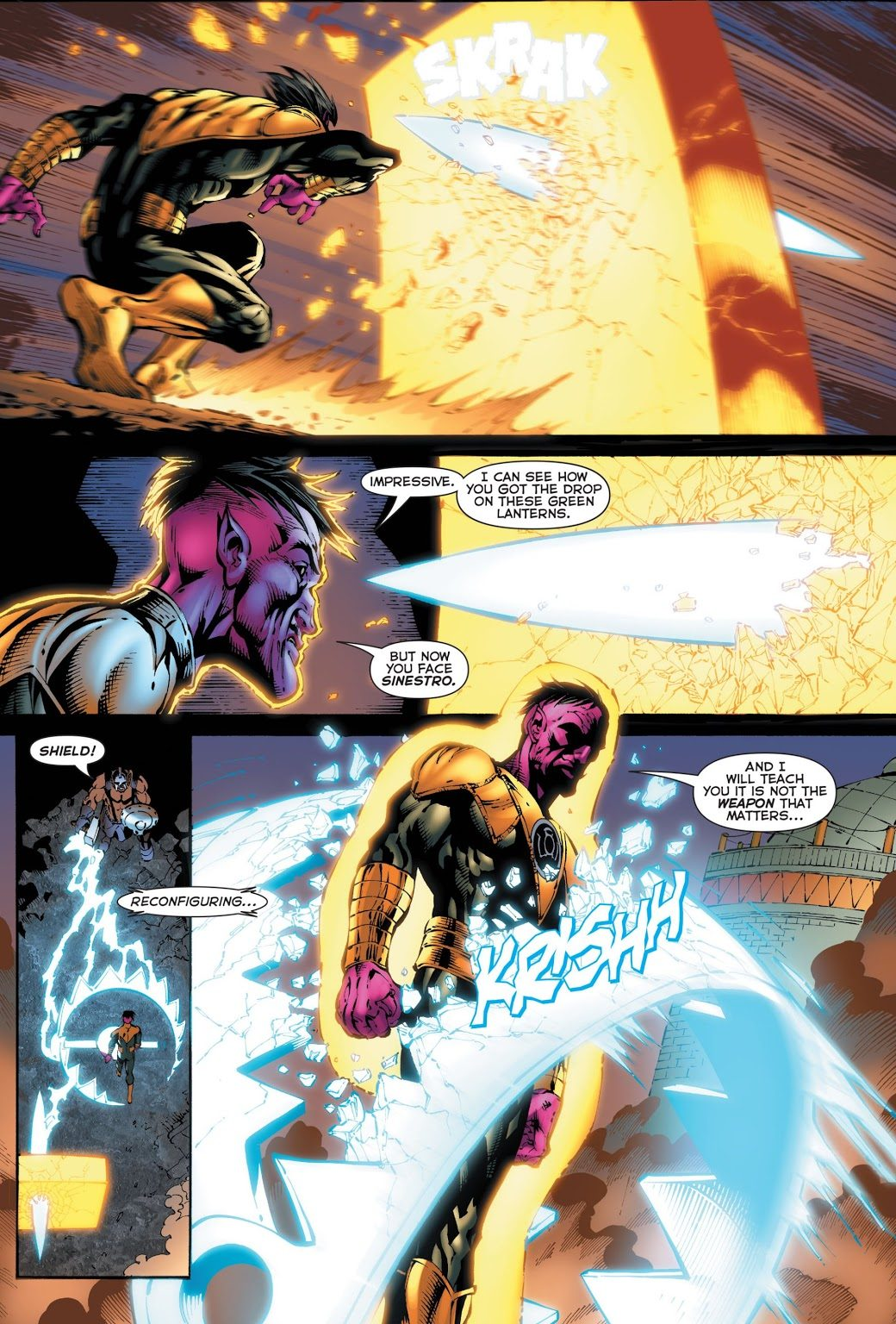 Sinestro VS The Weaponer Of Qward
