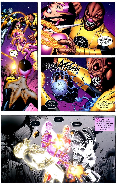 Star Sapphire Carol Ferris VS Sinestro