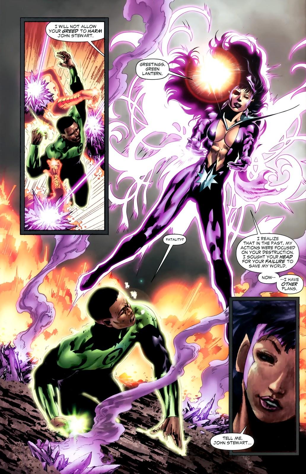 Star Sapphire Fatality (Green Lantern Vol. 4 #41)