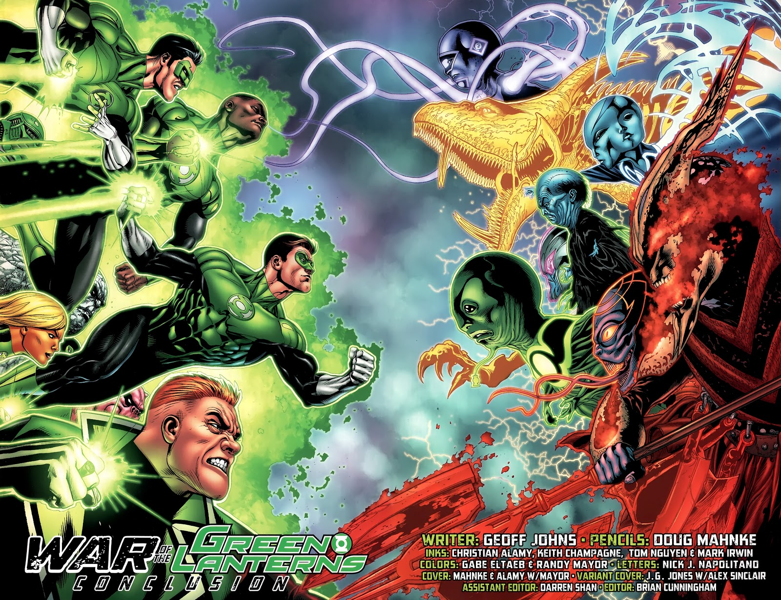 War Of The Green Lanterns (Green Lantern Vol. 4 #67)