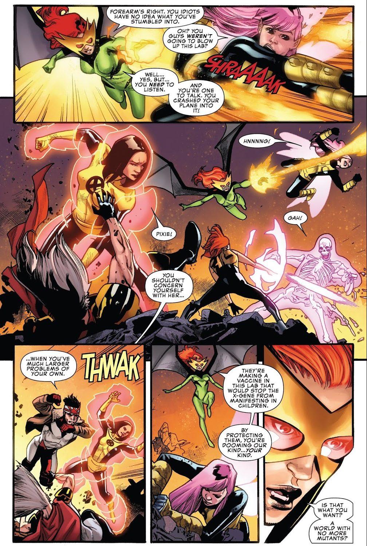 X-Men VS Mutant Liberation Front (Uncanny X-Men Vol 5 #1)