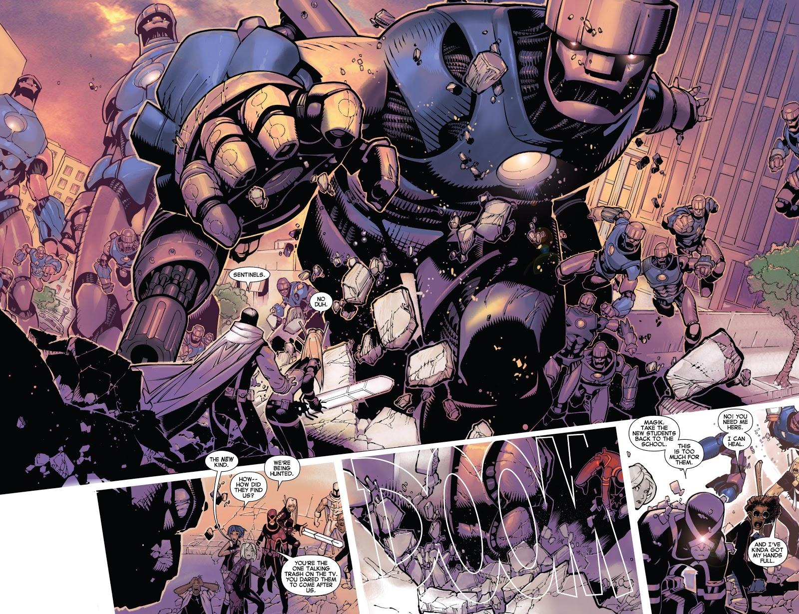 X-Men VS Sentinels (Uncanny X-Men Vol. 3 #1)