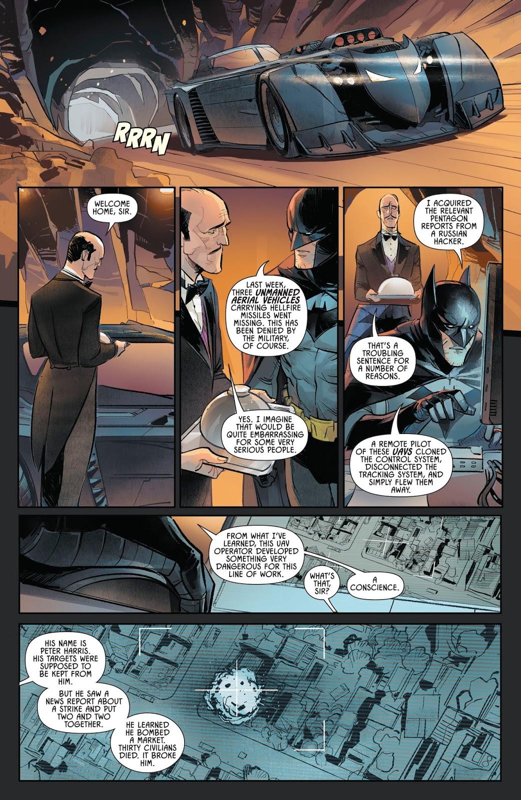 Batman Describes The Drone