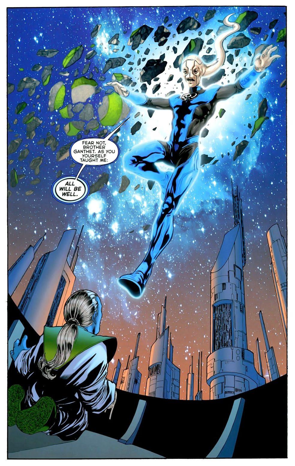 Blue Lantern Saint Walker (War of the Green Lanterns Aftermath #1)