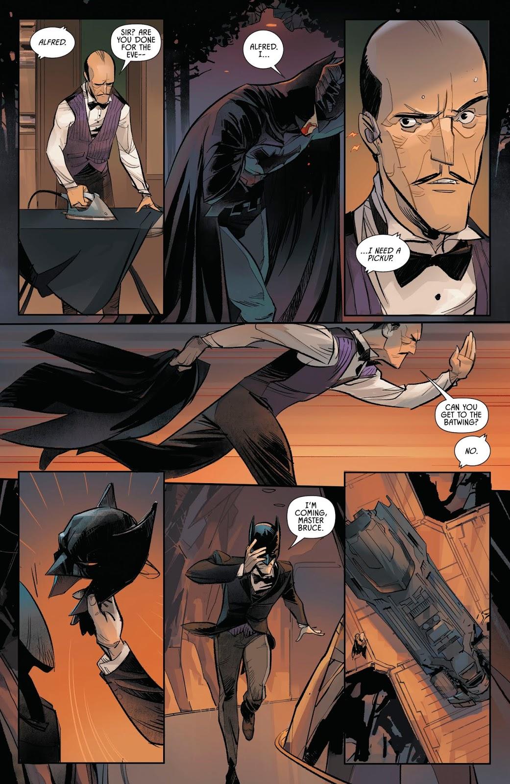 How Alfred Pennyworth Takes Care Of Batman (Batman Vol. 3 Annual #3)