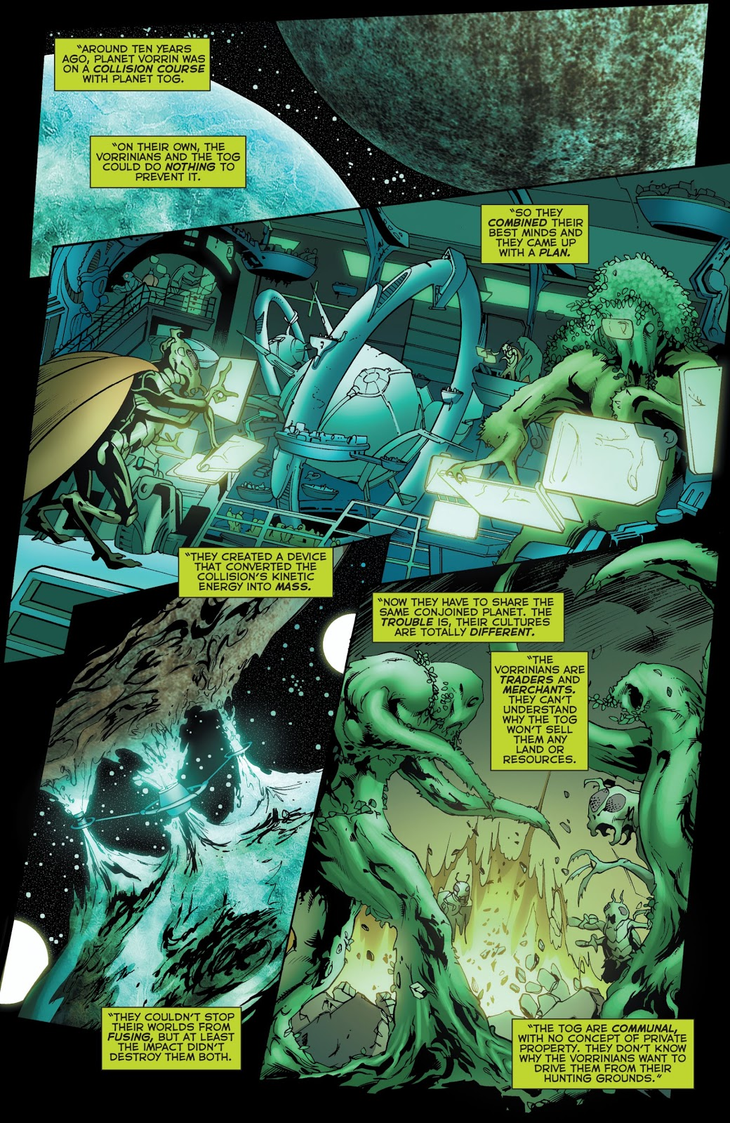 From - Green Lantern Corps Vol. 2 #60