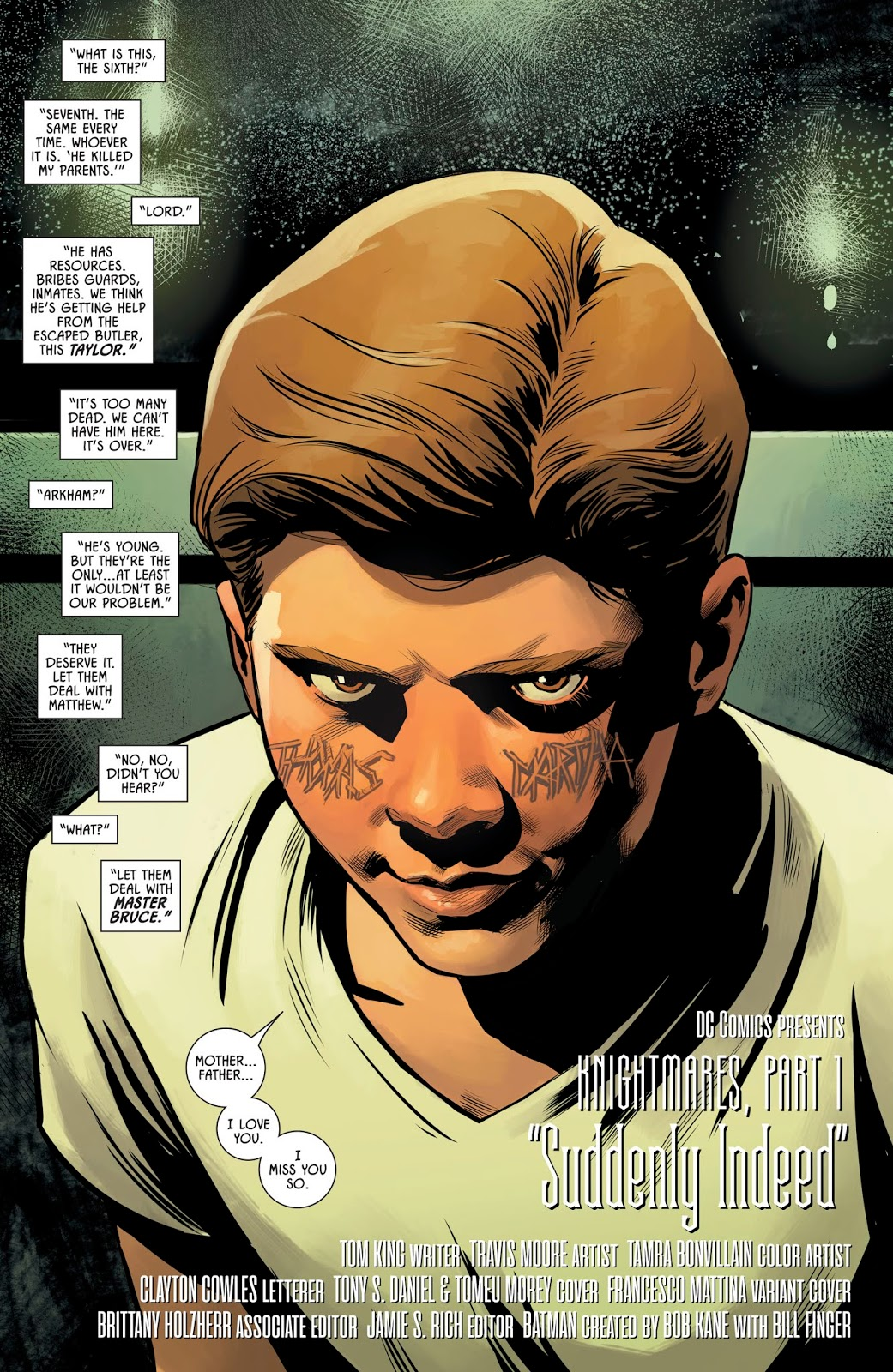 Master Bruce (Batman Vol. 3 #61)