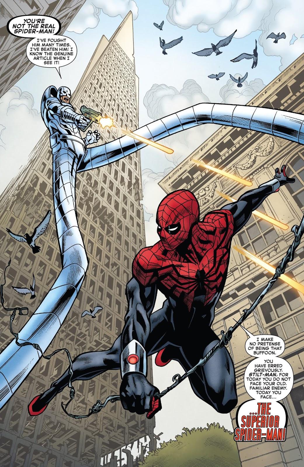 Superior Spider-Man VS Stilt-Man