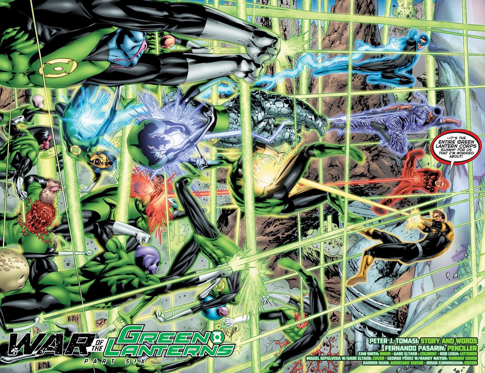 War Of The Green Lanterns (Emerald Warriors #9)