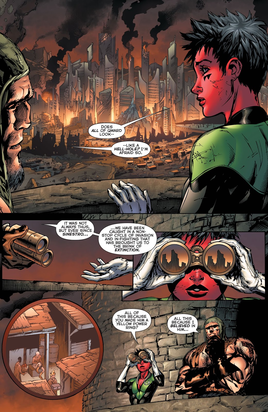 Why The Weaponer Wants To Kill Sinestro
