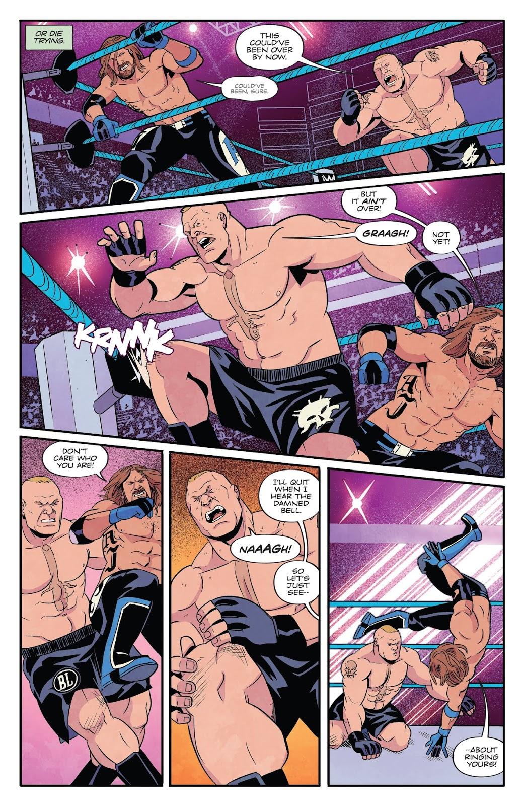 AJ Styles VS Brock Lesnar (Survivor Series 2017)