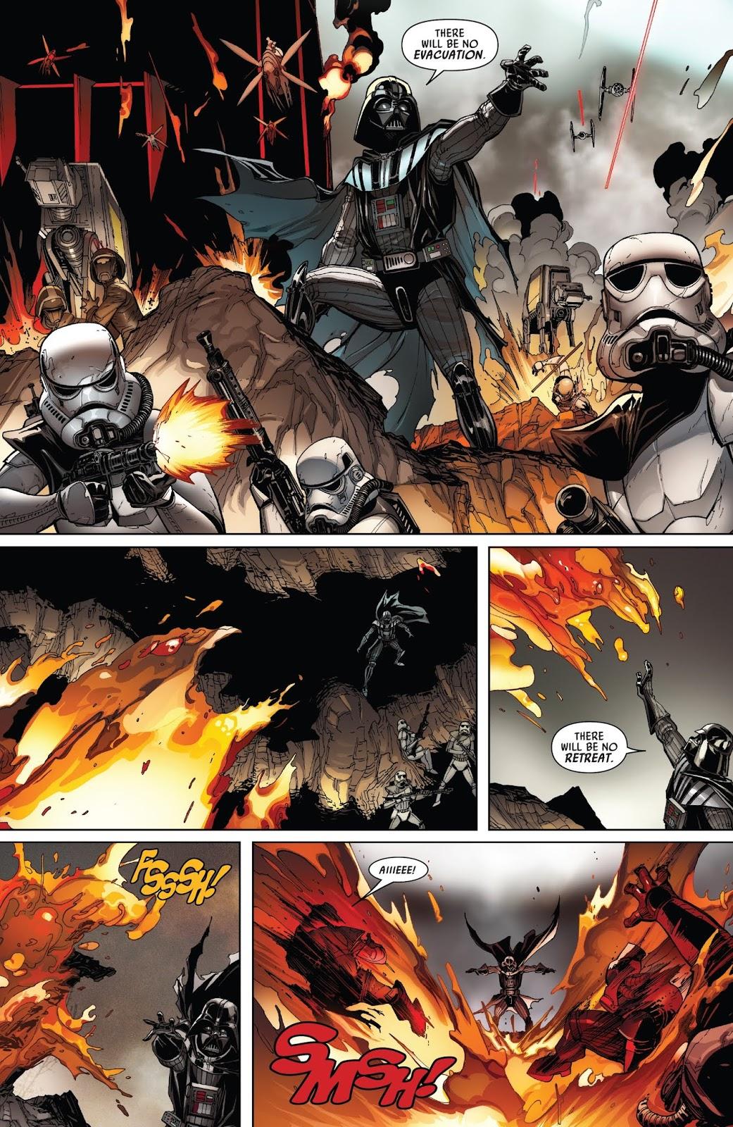 Darth Vader VS Mustafarians