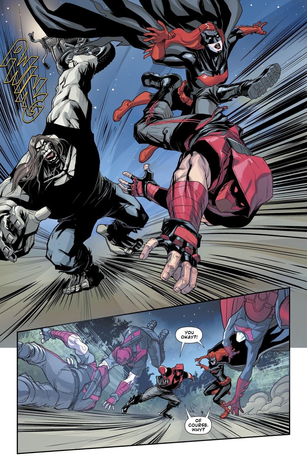 Red Hood And Batwoman VS Mondays