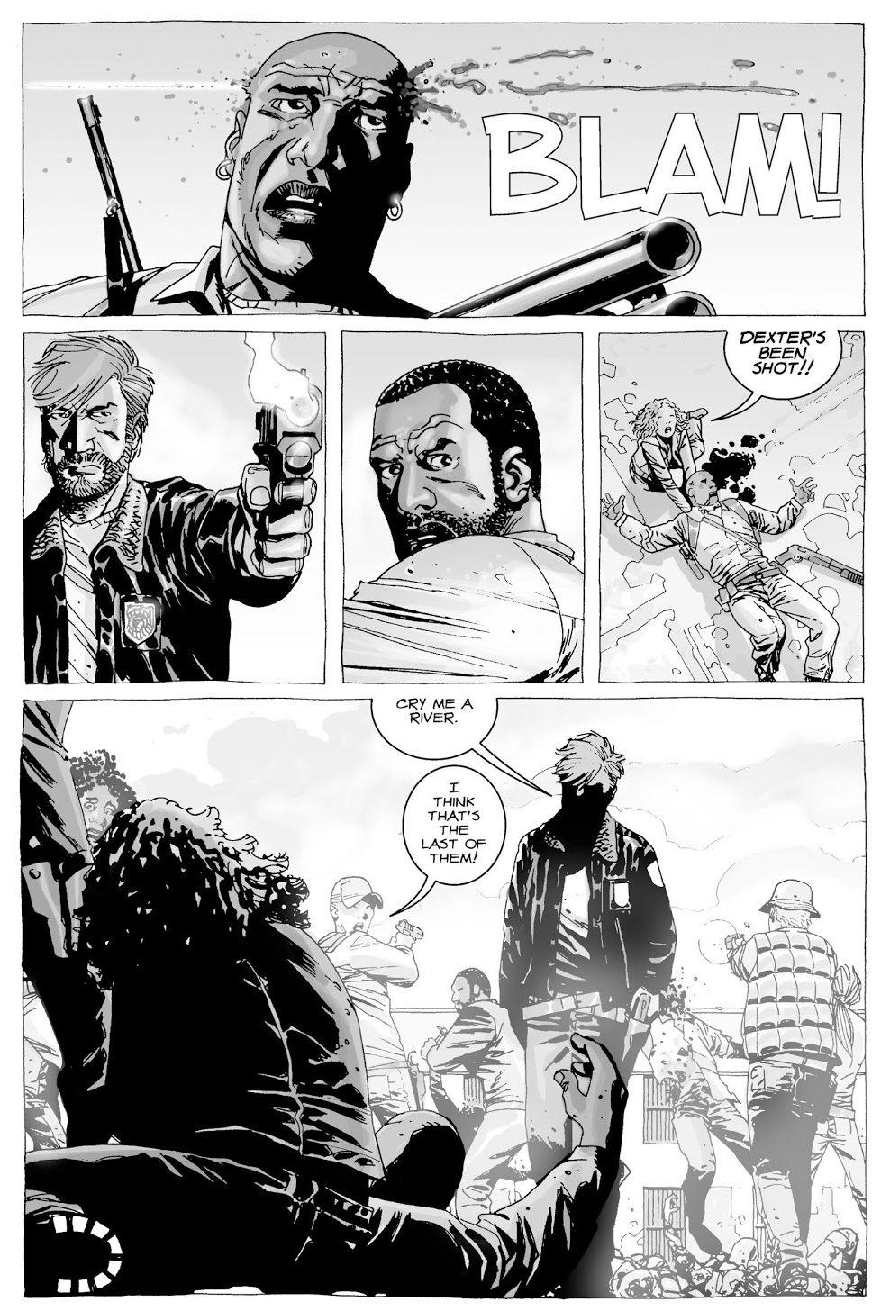 Rick Grimes Kills Dexter (The Walking Dead)
