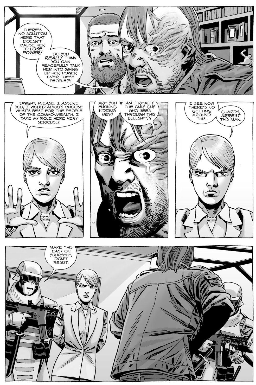 Rick Grimes Kills Dwight (The Walking Dead)