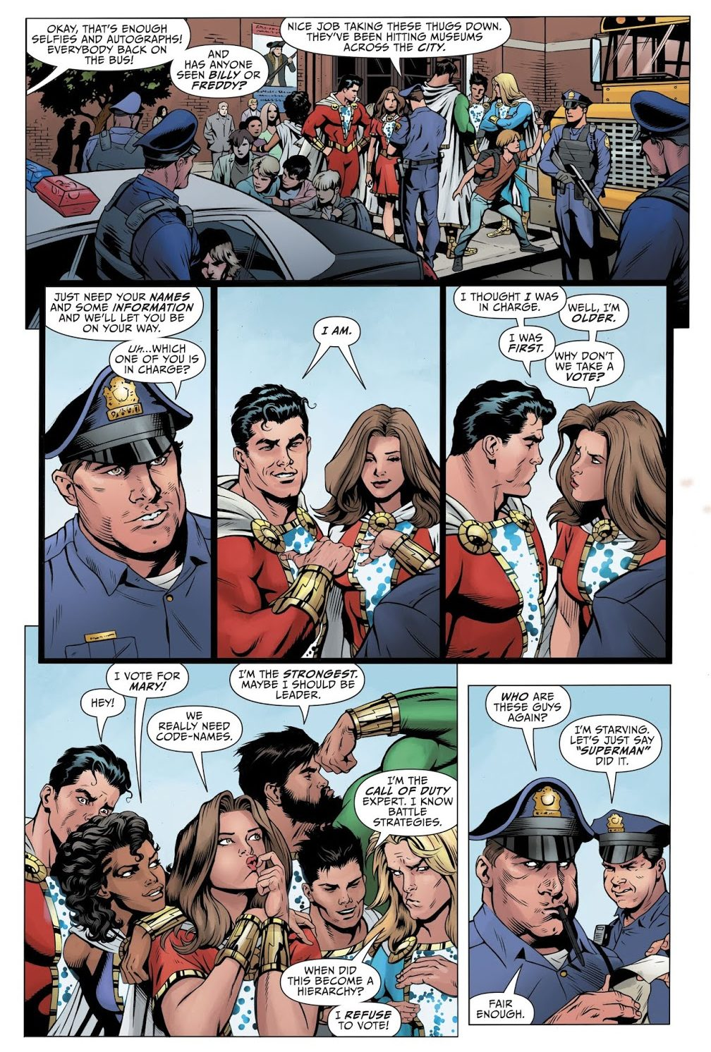 The Shazam Family (Shazam! Vol. 3 #1)