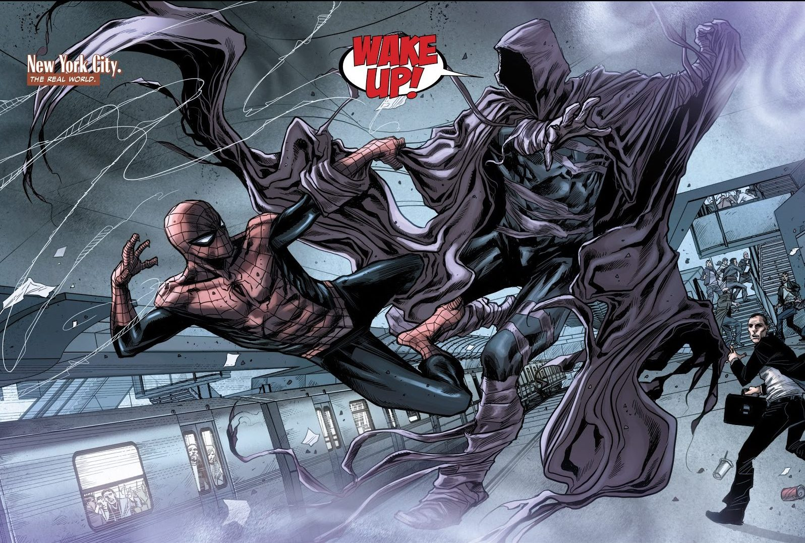 Superior Spider-Man VS Sleepwalker
