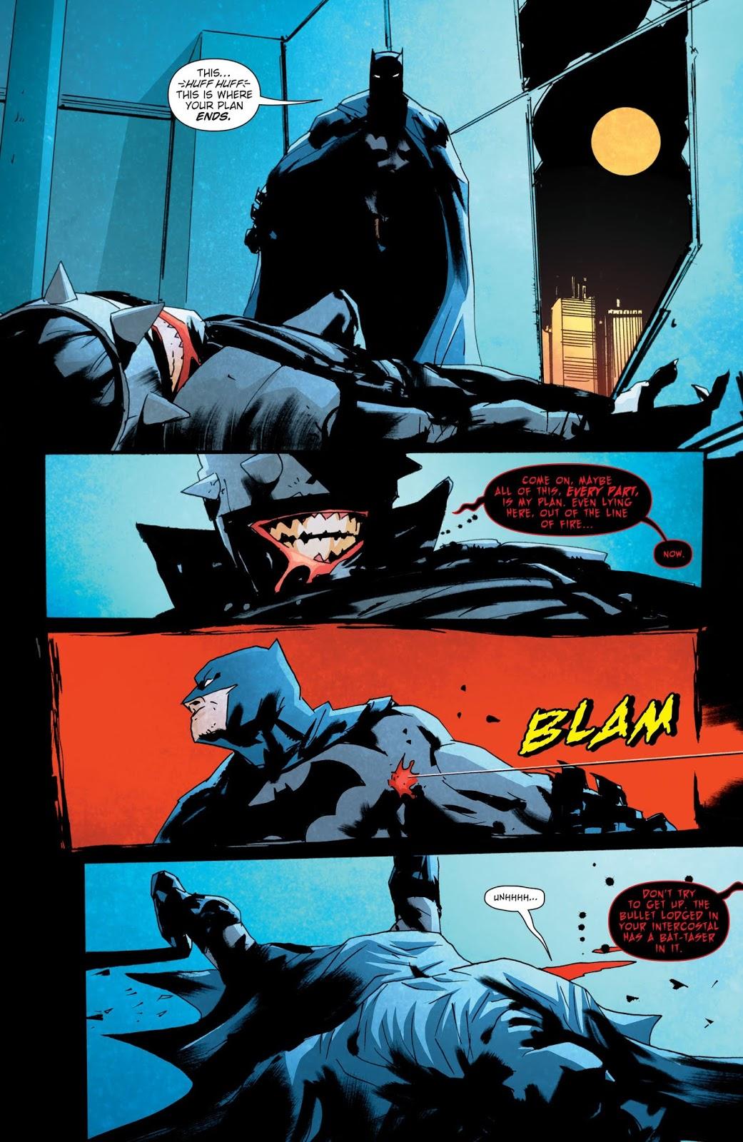 Batman Develops Bam Pow Fighting Technique