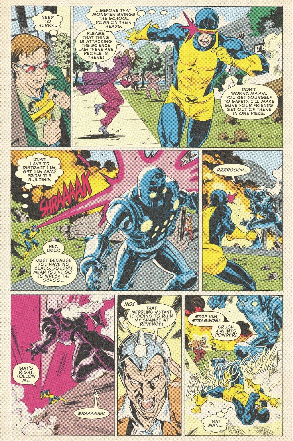 Cyclops VS Professor Tierney Tavin