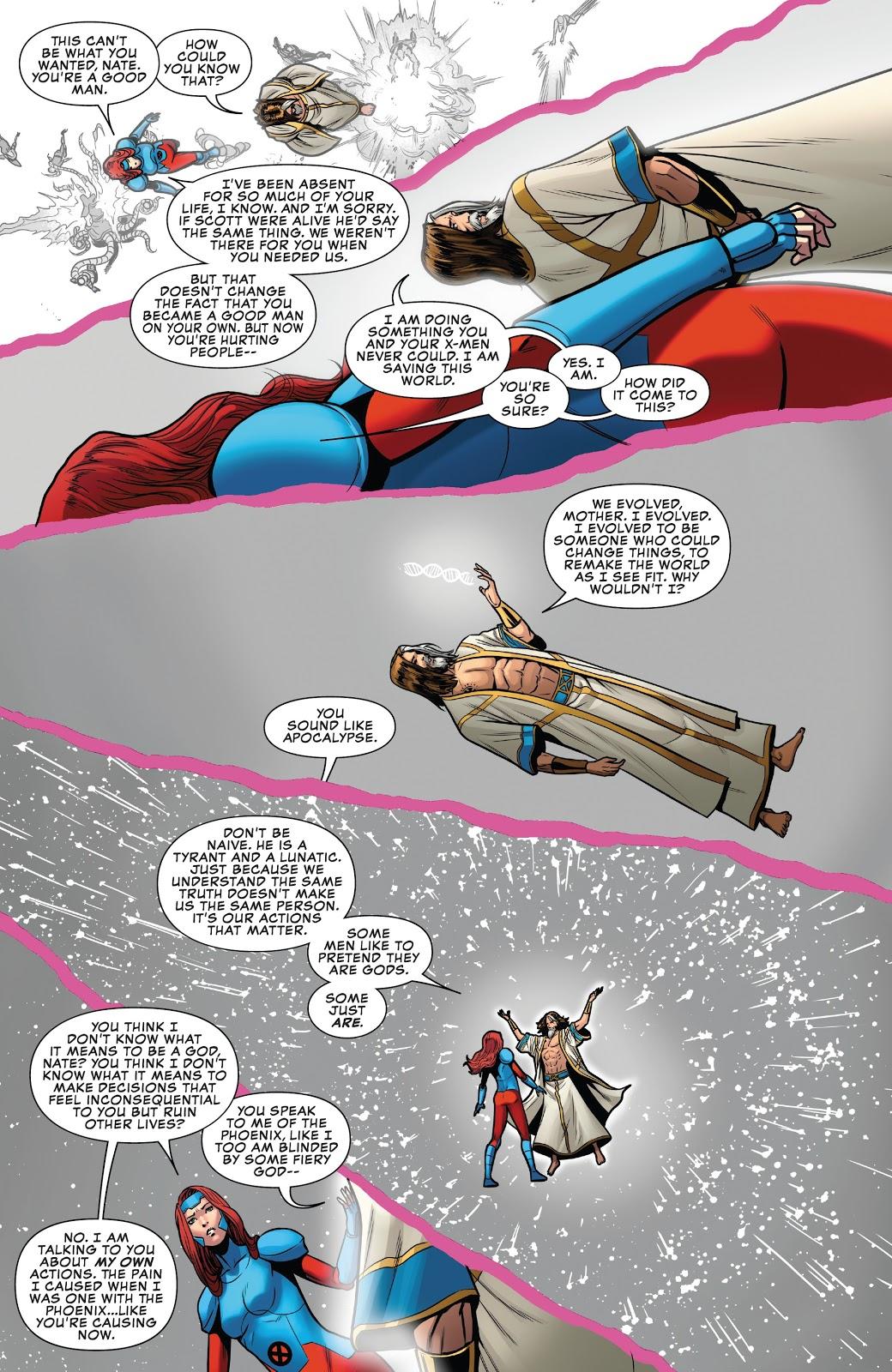 Jean Grey VS X-Man (X-Men Disassembled)