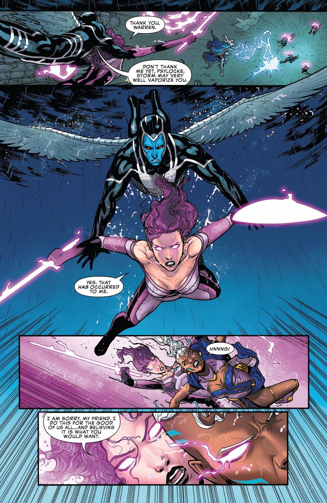 Psylocke VS Storm (X-Men Disassembled)
