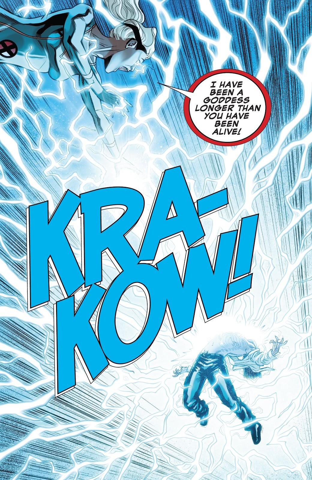Storm VS X-Man (X-Men Disassembled)