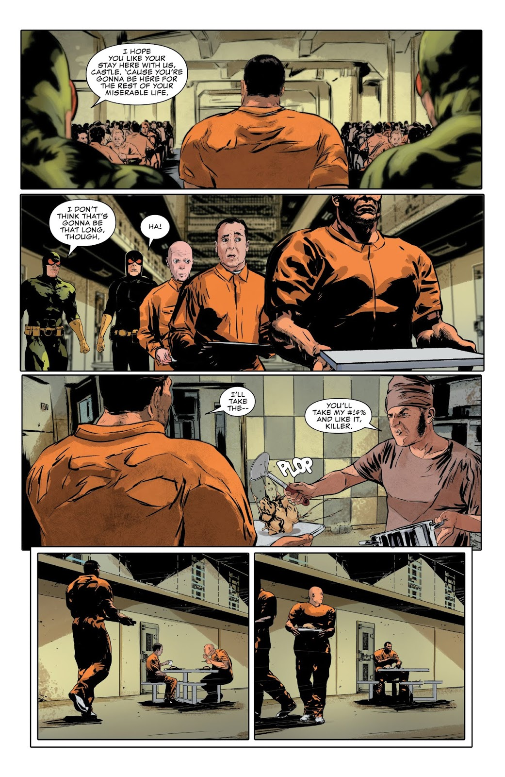 the punisher in a bagalian prison
