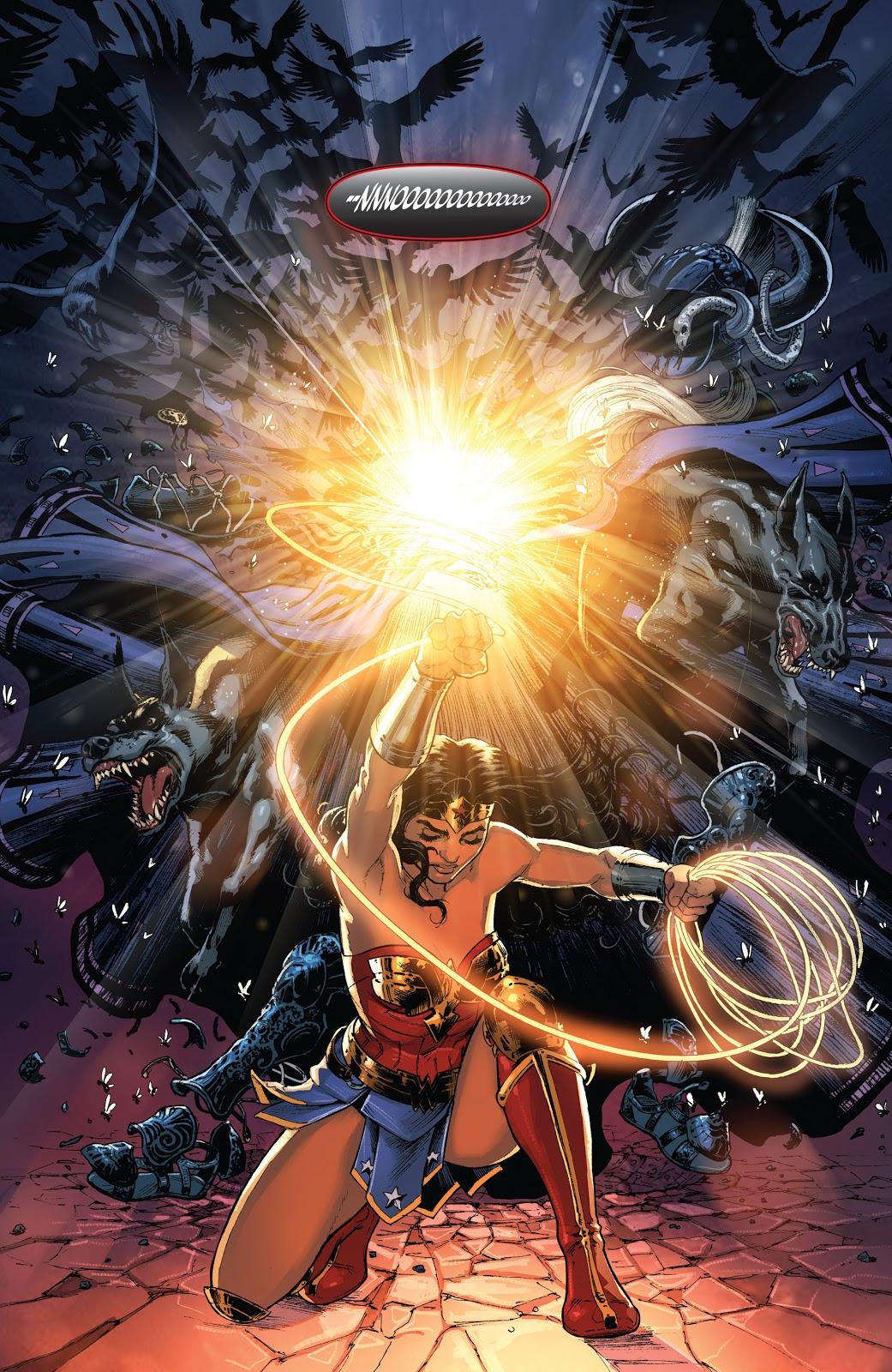 Wonder Woman VS Ares (Rebirth)